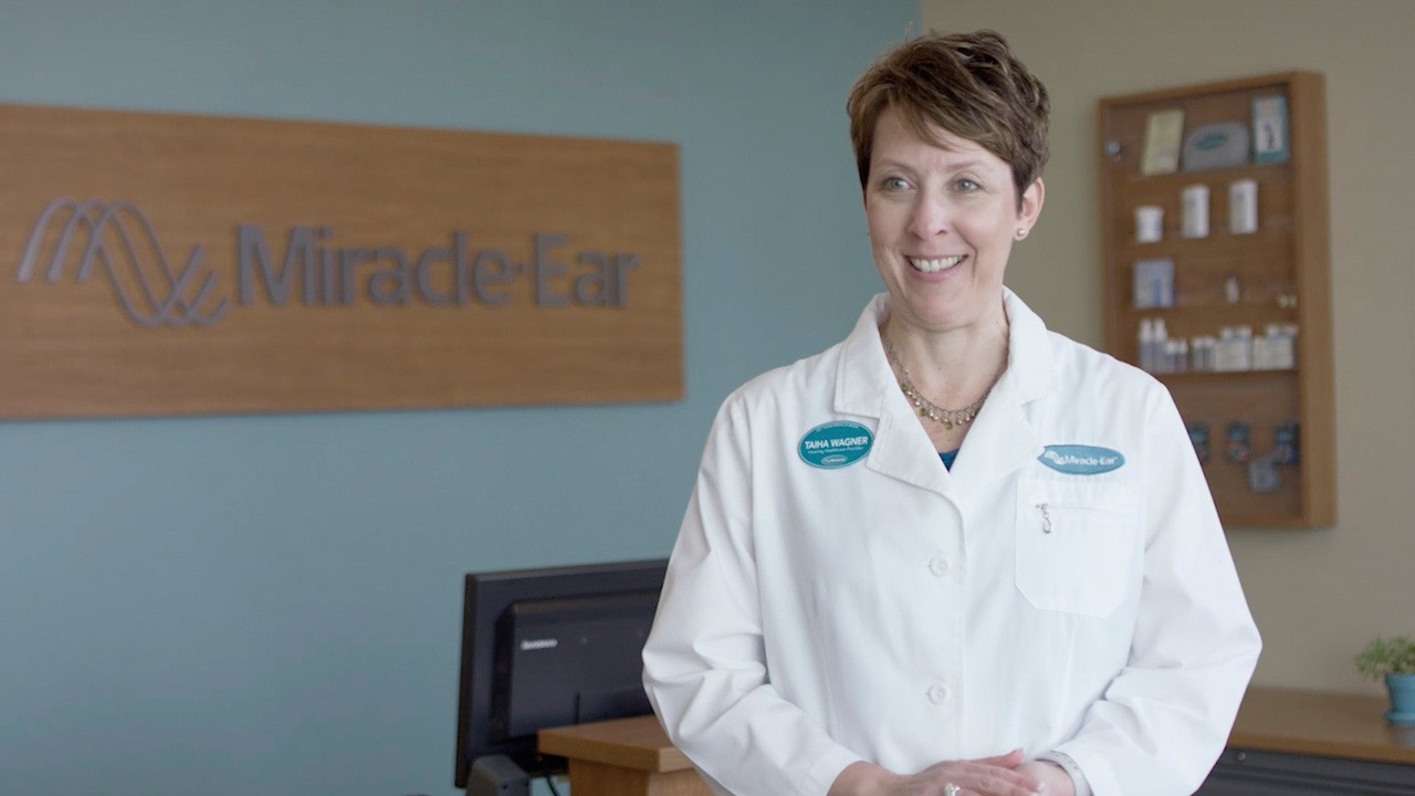 Miracle-Ear audiologist Tahia Wagner