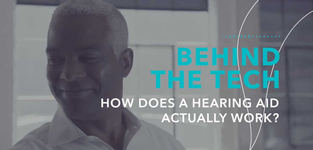 How does a hearing aid actually work?