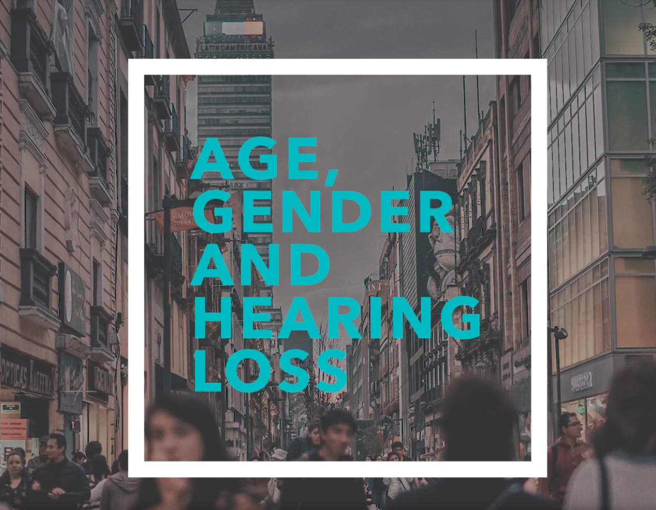 Age, gender and hearing loss