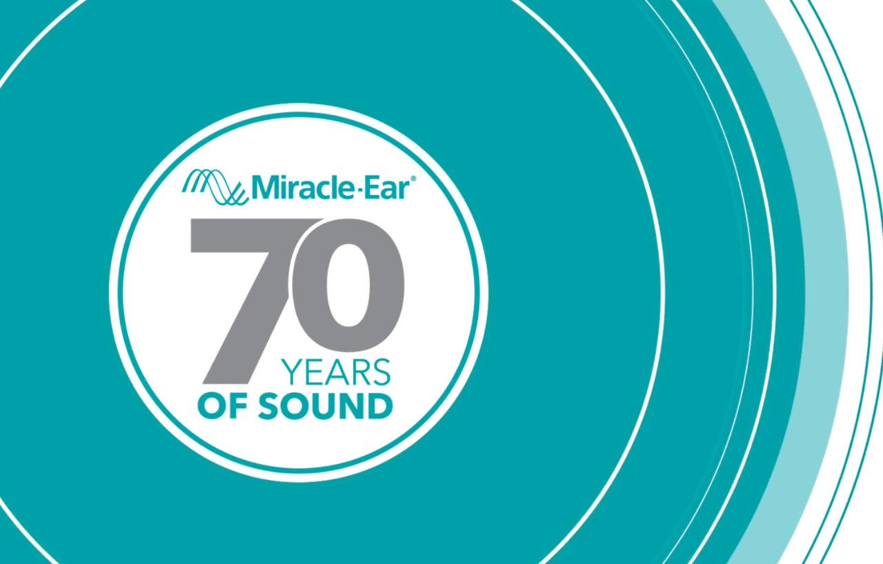 Celebrating Miracle-Ear's seventy years of sound