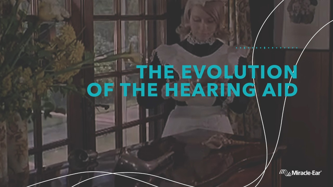 The evolution of the hearing aid