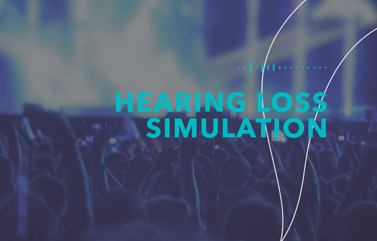 Hearing loss simulation
