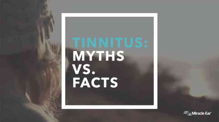 Tinnitus myths vs. facts