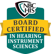 Board-Certified Hearing Instrument Specialist