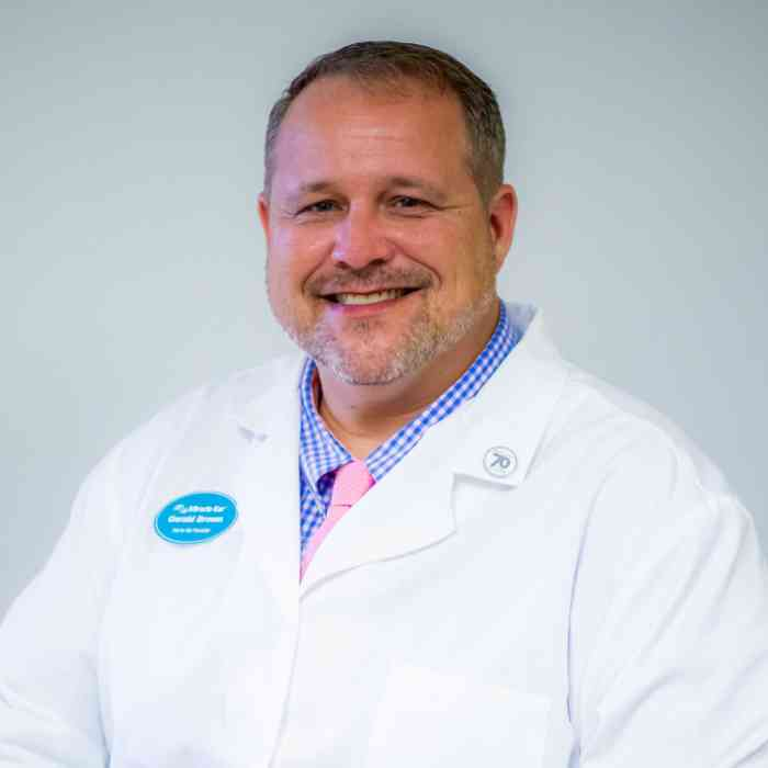 Gerald Brown, Hearing Aid Specialist
